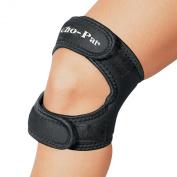 Cho-Pat Dual Action Knee Strap, Black, Small, 30cm -36cm