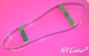NY CAKE 23cm Ladies Shoe Sole Cutter Stainless Steel.