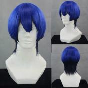 Sunny-business Anime Short UTA No Prince Sama Blue Black of Cosplay Wig