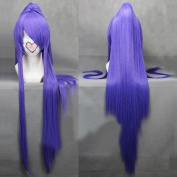 Sunny-business Anime Long Straight Vocaloid Gakupo Purple Gin Tama Ponytail of Cosplay Wig