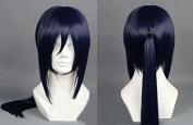 Sunny-business Anime Long Straight Dark Blue Yatogami Kuroh of Cosplay Wig