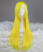 Sunny-business Anime Long Straight Dance Lemon Yellow Party of Cosplay Wig