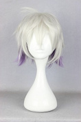Sunny-business Short Lolita Multicolor Grey Purple Party of Cosplay Wig