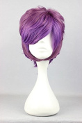 Sunny-business Anime Short Lolita Multicolor Party of Cosplay Wig