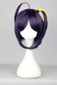 Sunny-business Anime Short Chuunibyou Demo Koi Ga Shitai Rikka Purple of Cosplay Wig