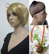 Free Hair Cap+ Axis Powers Hetalia America USA Alfred F Jones Cosplay Wig Ash Blonde