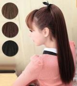 Brownylife Shop - New Fashion Women Big Synthetic Horsetail Wig,straight Ponytail Bundled Wig Women Horsetail