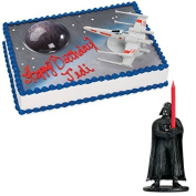 Star Wars Cake Topper and Candle
