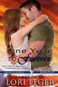 One Year to Forever - Large Print