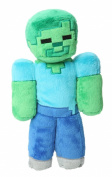 Jinx Minecraft Overworld - Zombie Plush, 30cm