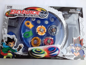 Beyblade Set(4 Beyblades+2 Launchers+4 Tips+2 Bolts +1grip+1arena)beyblade With Arena As Children Gift