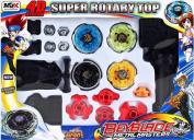 19pcs/box Rare Beyblade Ultimate 4d Top Rapidity Metal Fusion Fight Master Masters Set Cem, Original Box