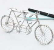J1 Tandem Bike/bicycle Sculpture/decorationstainless Hand-made Art Crafts Wedding&birthday&home&office&gift&present