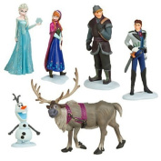 Frozen The Snow Queen Anna Elsa Kristoff Hans 6 In 1 Dolls Toy