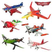 6pcs/lot Pixar Planes Diecast Dusty Planes Aeroplane Model Classic Toys For Children, Gifts Doll/ Ishani Skipper Ripslinger