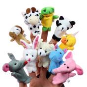 10x Animal Finger Puppets