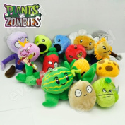 Plants Vs Zombies Soft Plush Toy With Sucker A Full Set Of 14