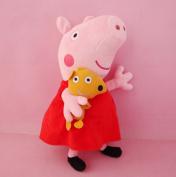 "New1pc Pig Peppa Pig Plush Toy George Pig Dolls Stuffed Plush Cartoon Plush Kids Gift 19cm/7.4"""