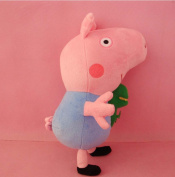 "New1pc Pig George Pig Plush Toy George Pig Dolls Stuffed Plush Cartoon Plush Kids Gift 19cm/7.4"" Peppa Pig"