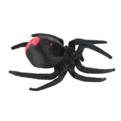 Black Widow Spider 20cm Plush Toys Dolls The Mini Pillow Backrest The Stuffed Toys For Children Doll Toy For Boy