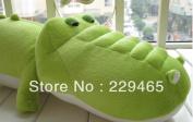 Plush Toys Doll Cartoon Stuffed Crocodile For Kids Children Cushion Toys 55cm Big Size Stuffed Animals New Toysfree