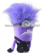 30cm  Despicable Me Minions Evil Purple Plush Doll Toy