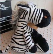 25cm Children Toys Plush Zebra Doll For Baby Boy And Girl,kids Soft Toys Horse,cheap Sale Andmx048