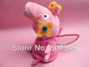Peppa Pig Plush Pink Fairy Pig Soft Toy 19cm