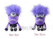 10inch 25cm 2 Styles You Can Choose Despicable Me 2 Minions Poisoned Purple Minions Plush Toy