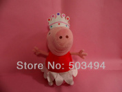 Plush Peppa Pig Ballerina Peppa Doll Soft Toy Sets Height 30 Cm In Large Size
