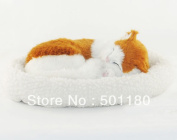 Sleeping Cat With Breathing Handmade Sleeping Cat Toy For Birthday Gift Home Decoration