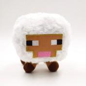 Latestwhite Colour Minecraft Plush 5 X 10cm  X 14cm  Stuffed Toys Baby Sheep Plush