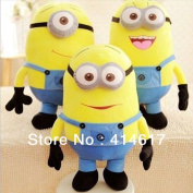 50cm  Despicable Me Dave Jorge Plush Minion Soft Toy Stuffed Cuddly 3d Eyes Doll