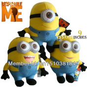 Despicable Me Movie Plush Toy 9inches 23cm Minion Jorge Stewart Dave Nwt With Tags