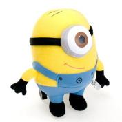 "Despicable Me 3d Eyes Plush Toy 10 Inch "" 25cm Minions Stuffed Jorge Stewart Dave Minion Baby Toys"
