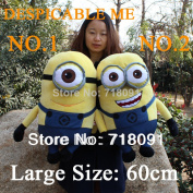 60cm,1pc,3d Despicable Me,giant Toy Minions,plush Stuffed Doll,can Be Cushion Pillow,kid's Gifts,free