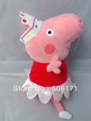 Peppa Pig Plush Doll Ballerina Peppa 9 Inch 23cmopp Package