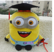 Movie Cute Despicable Me 2 Big Size Minion Plush Toy 3d Anime Stuffed Best Friends Christmas Graduation Gifts For Children