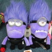 Despicable Me 3d Eyes Plush Toy 30cm Minions Stuffed Dolls Purple Minion Plush Toys Ht500