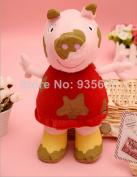 Peppa Pig Mud 30cm Plush Toy Big Muddy Pepa In The Puddle Tv Anime Stuffed Animals Soft Doll Kids