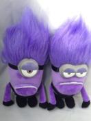 Funny Purple Zambie Minion Plush Big Despicable Me Movie Plush Toys30cm