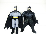 1pc 42cmjustice League Anime Movie Figure Toy Soft Stuffed Batman Plush Toy Doll For Boy Childrengift