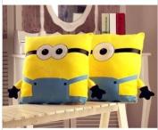 Despicable Me 2 Minion Pillow Cutehand Warmer Plush Toy American Movies Children's Birthdayfor Kids32*32cm