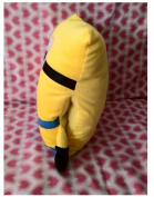 Despicable Me 2 Minion Pillow Cutehand Warmer Plush Toy American Movies Children's Birthdayfor Kids32*32cm