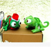 New 20cm  Tangled Rapunzel Pascal Chameleon Plush Toy Green Dragon Doll Plush Toys Dolls Minion Plush