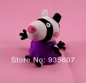 Zoe Zebra 20cm 8pcs/set Peppa George Pig Friends Family Plush Toy Set Peppa Pigstuffed Animals Dolls Baby Toys Pepa