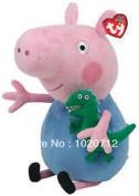 Ty Peppa Pig - George - Soft Plush Toy 12 Inches (30cm) - Bnwt - Licenced