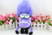 Two Eye Despicable Me Minions Evil Purple Plush Doll Toy Despicable Me Purple Plush