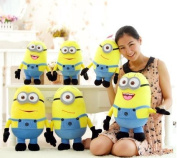 """3d Teddy Doll 20"""" 50cm Despicable Me Toy Dave Stewart Jorge Plush Minion Soft Toy Stuffed Cuddly For Kids"""