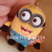 """1ps Despicable Me 2 Movie Plush Toy 9 Inch """" 25cm Minion Jorge Stewart Dave Nwt With Tags And Labels"""